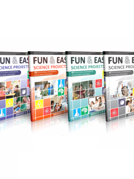 Fun & Easy Science series of science project e-books