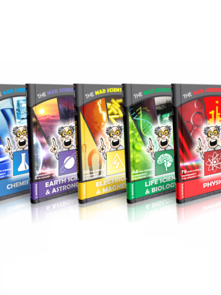 The Mad Scientist - Science experiment e-book series