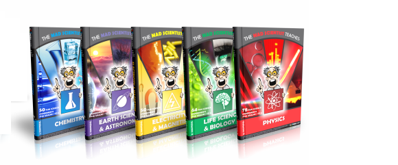 The Mad scientist experiment ebook range